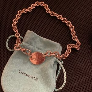 Authentic retired Tiffany oval choker